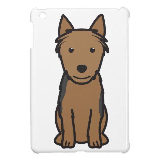 Australian Terrier Dog Cartoon iPad Mini Covers