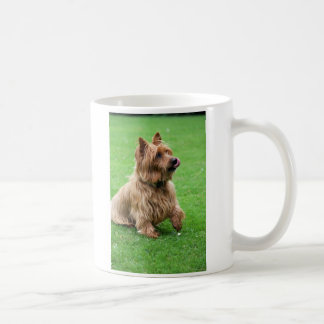 Australian Terrier dog I love heart mug, gift Coffee Mug