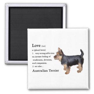 Australian Terrier Gifts Fridge Magnets