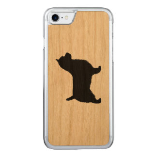 Australian Terrier Silhouette Carved iPhone 8/7 Case