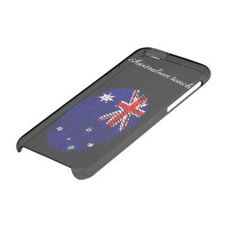 Australian touch fingerprint flag clear iPhone 6/6S case