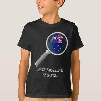 Australian touch fingerprint flag T-Shirt