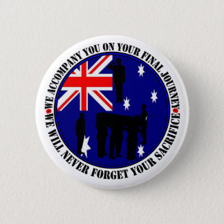 Australian traps Heroes Funeral 6 Cm Round Badge