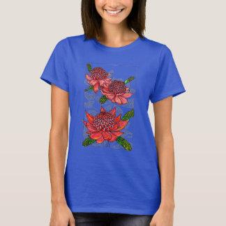 Australian Waratahs Floral Design T-Shirt