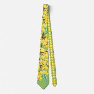 Australian wattle tie