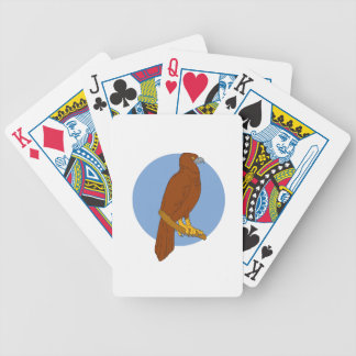Australian Wedge-tailed Eagle Perch Drawing Bicycle Playing Cards