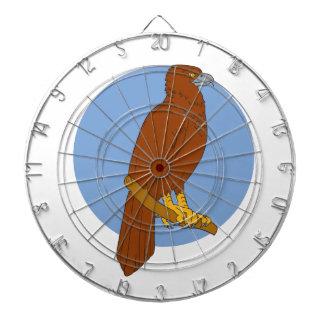 Australian Wedge-tailed Eagle Perch Drawing Dartboard