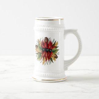 Australian Wildflowers - Sturt Desert Pea Mug