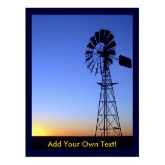 Australian Windmill Postcard