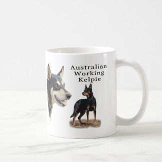 Australian Working Kelpie - Black and Tan Coffee Mug