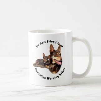 Australian Working Kelpie - Red and Tan Coffee Mug