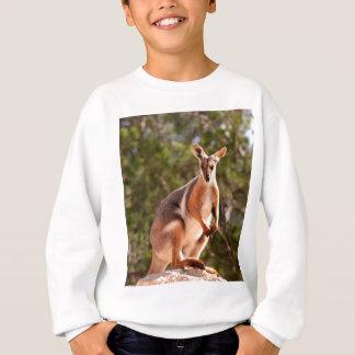 Australian yellow-footed rock wallaby sweatshirt