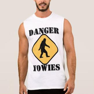 Australian Yowie bigfoot Sleeveless Shirt