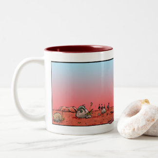 Australiana inspired coffee mug with Kangaroo