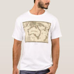 AustraliaPanoramic MapAustralia 2 T-Shirt