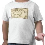 AustraliaPanoramic MapAustralia 2 Tshirts
