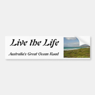 Australia's Great Ocean Road Bumper Sticker