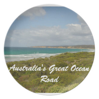 Australia's Great Ocean Road Dinner Plate