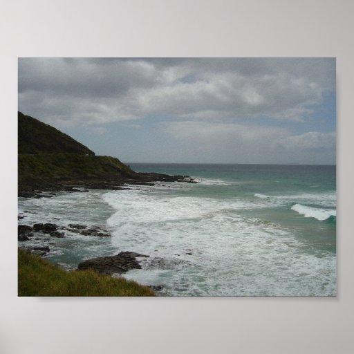 Australia's Great Ocean Road Poster