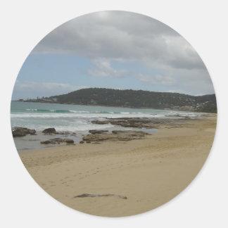 Australia's Great Ocean Road Round Stickers