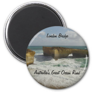 Australia's London Bridge 6 Cm Round Magnet