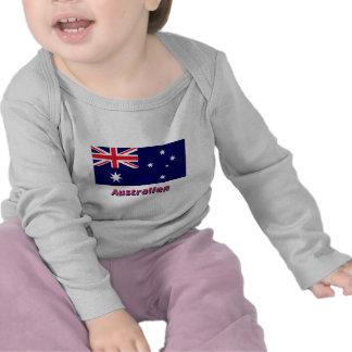 Australien Flagge mit deutschem Namen Shirts