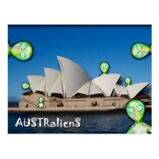 AUSTRalienS rOcK! Postcard