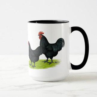 Australorp Black Chickens Mug