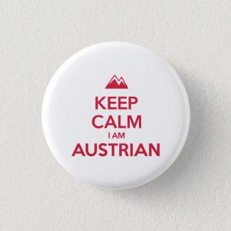 AUSTRIA 3 CM ROUND BADGE
