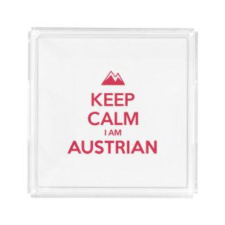 AUSTRIA ACRYLIC TRAY