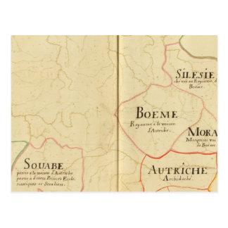 Austria and Czech Republic Postcard
