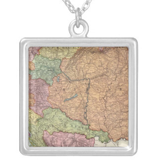 Austria and Hungary 2 Silver Plated Necklace
