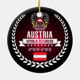 Austria Ceramic Ornament