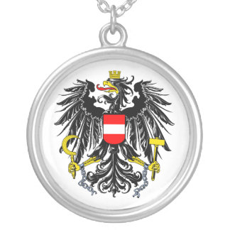 Austria Coat of Arms Necklace