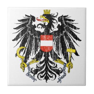 Austria Coat Of Arms Tile