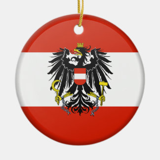 Austria Custom Christmas Ornament