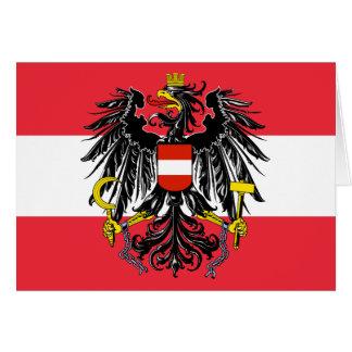 austria emblem card