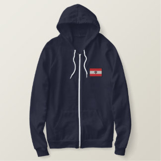Austria Embroidered Hoodie