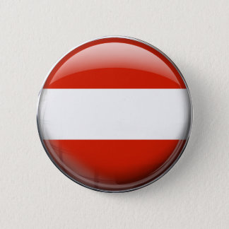 Austria Flag 6 Cm Round Badge