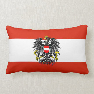 Austria Flag American MoJo Pillow