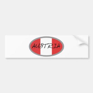 Austria Flag! Bumper Sticker
