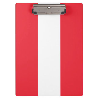 Austria Flag Clipboard