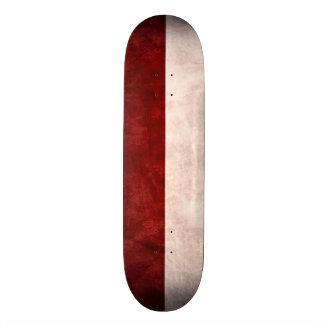 Austria Flag Grunge Custom Pro Park Board Skate Deck