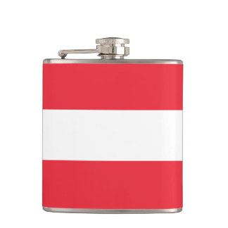 Austria Flag Hip Flask