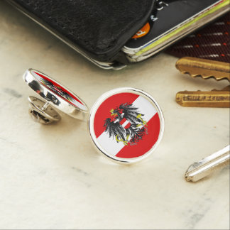 Austria flag lapel pin