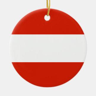 Austria Flag Ornament