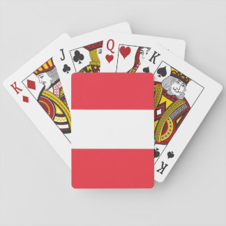 Austria Flag Playing Cards