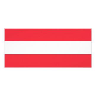 Austria Flag Rack Card