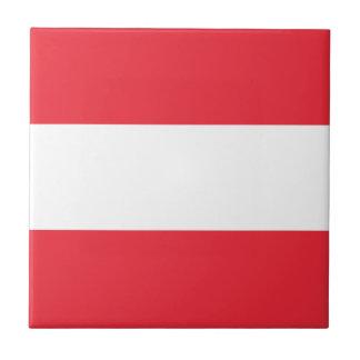 Austria Flag Tile