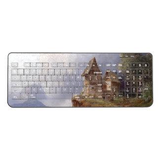 Austria House Barn Farm Wireless Keyboard